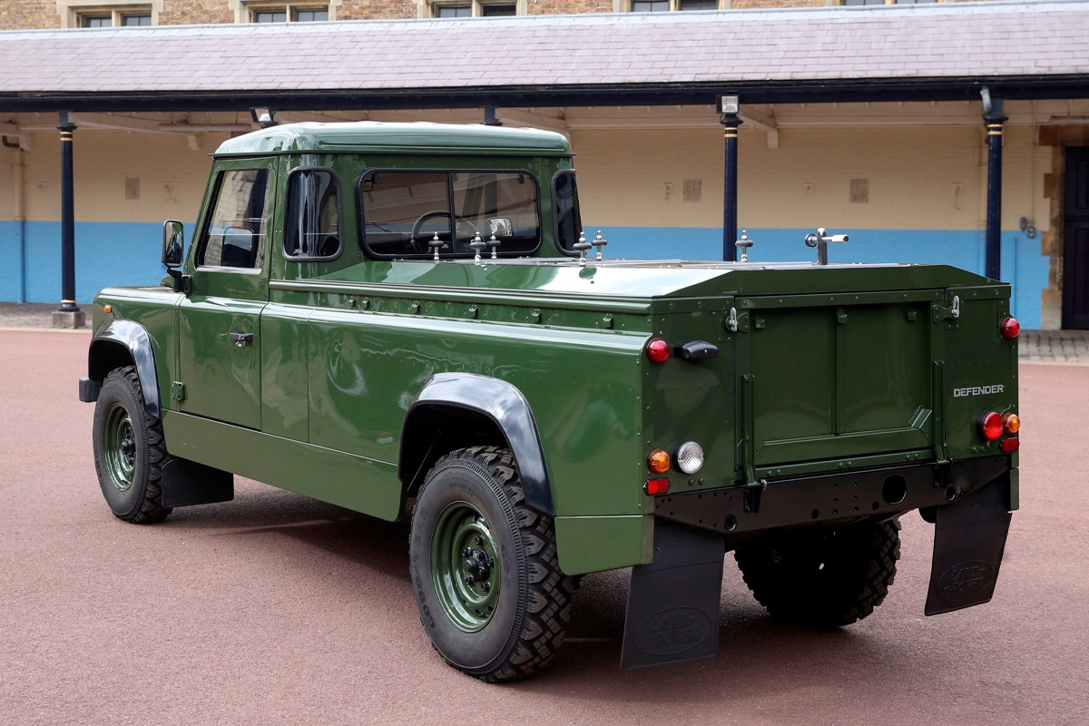 Prince philip land rover hearse 1