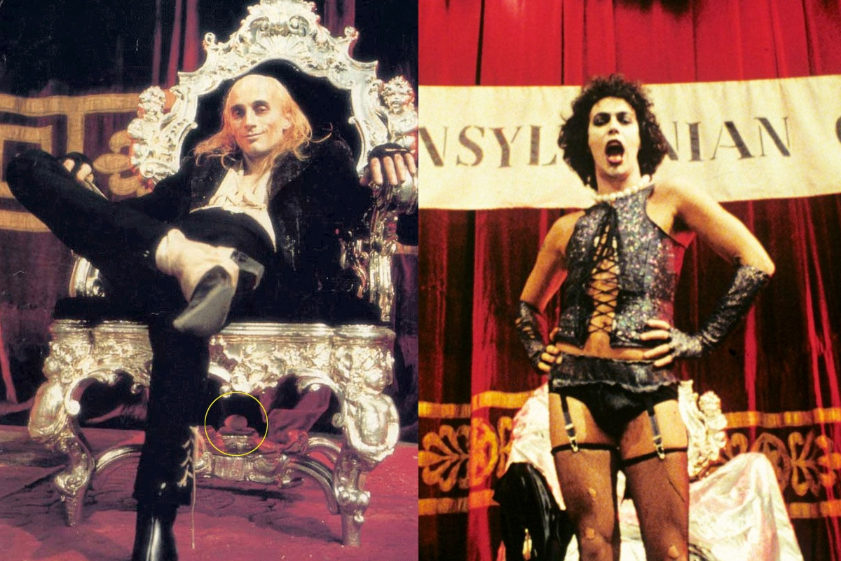 Rocky horror picture show actual easter eggs