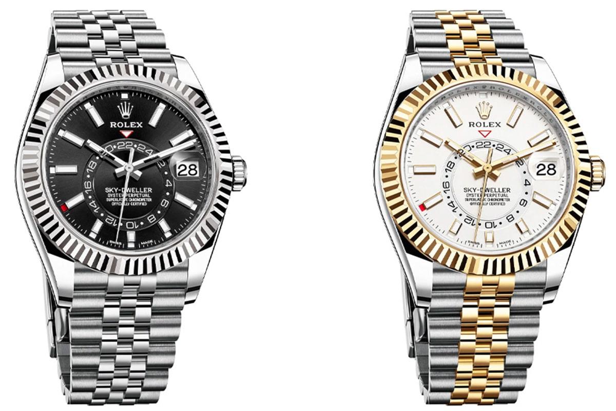 Rolex sky dweller on a jubilee bracelet