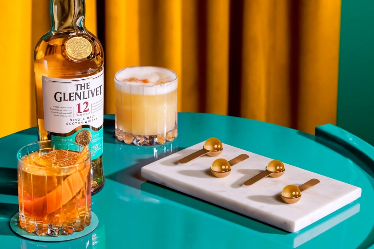 Score free capsule cocktails from the glenlivet