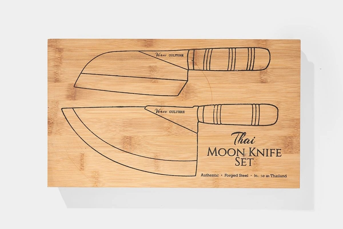 Thai moon knife set