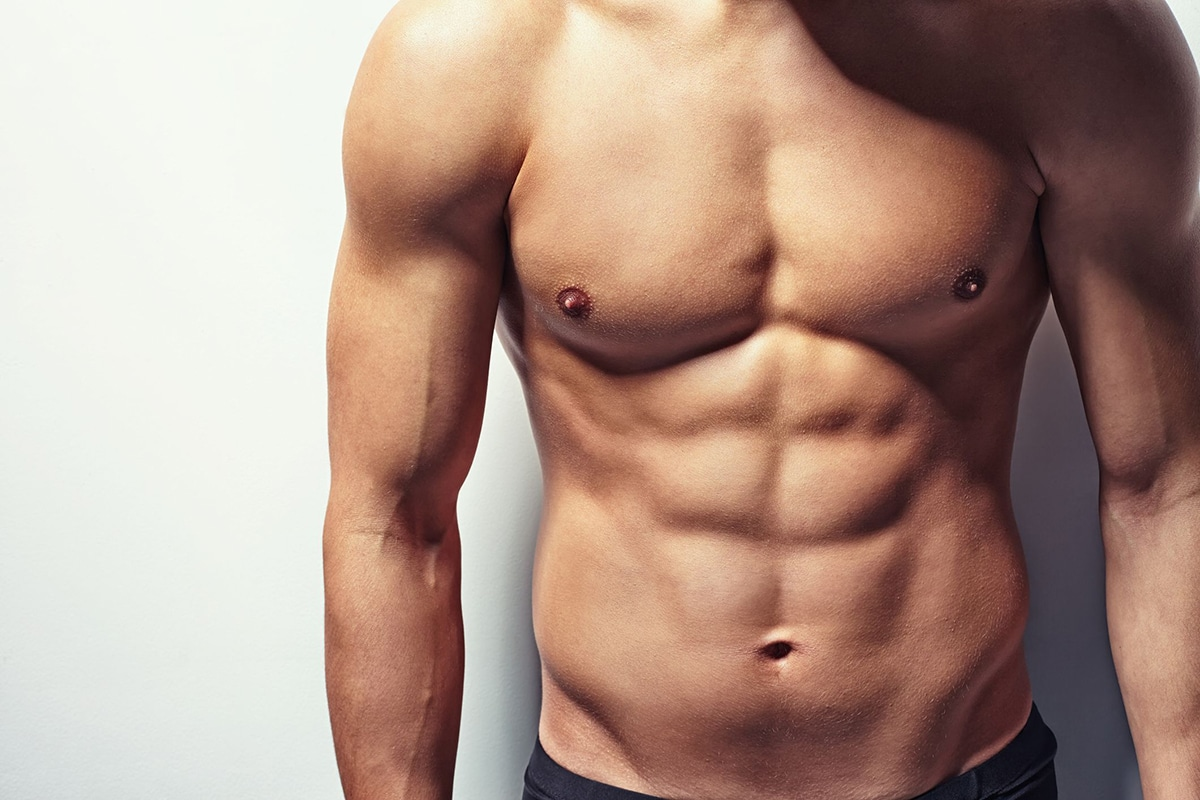 10 percent man abs Fat Percentage