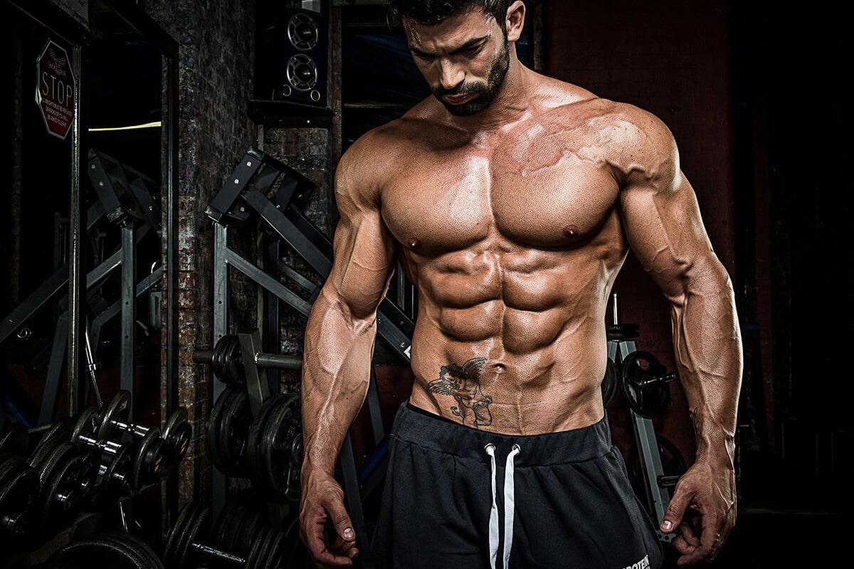 lower 10 percent man abs Fat Percentage