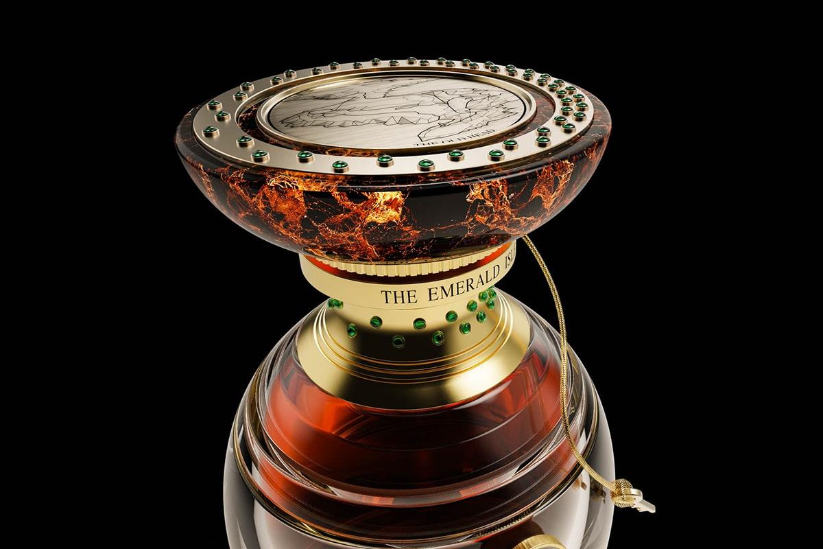 The craft irish whiskey co x faberge 4