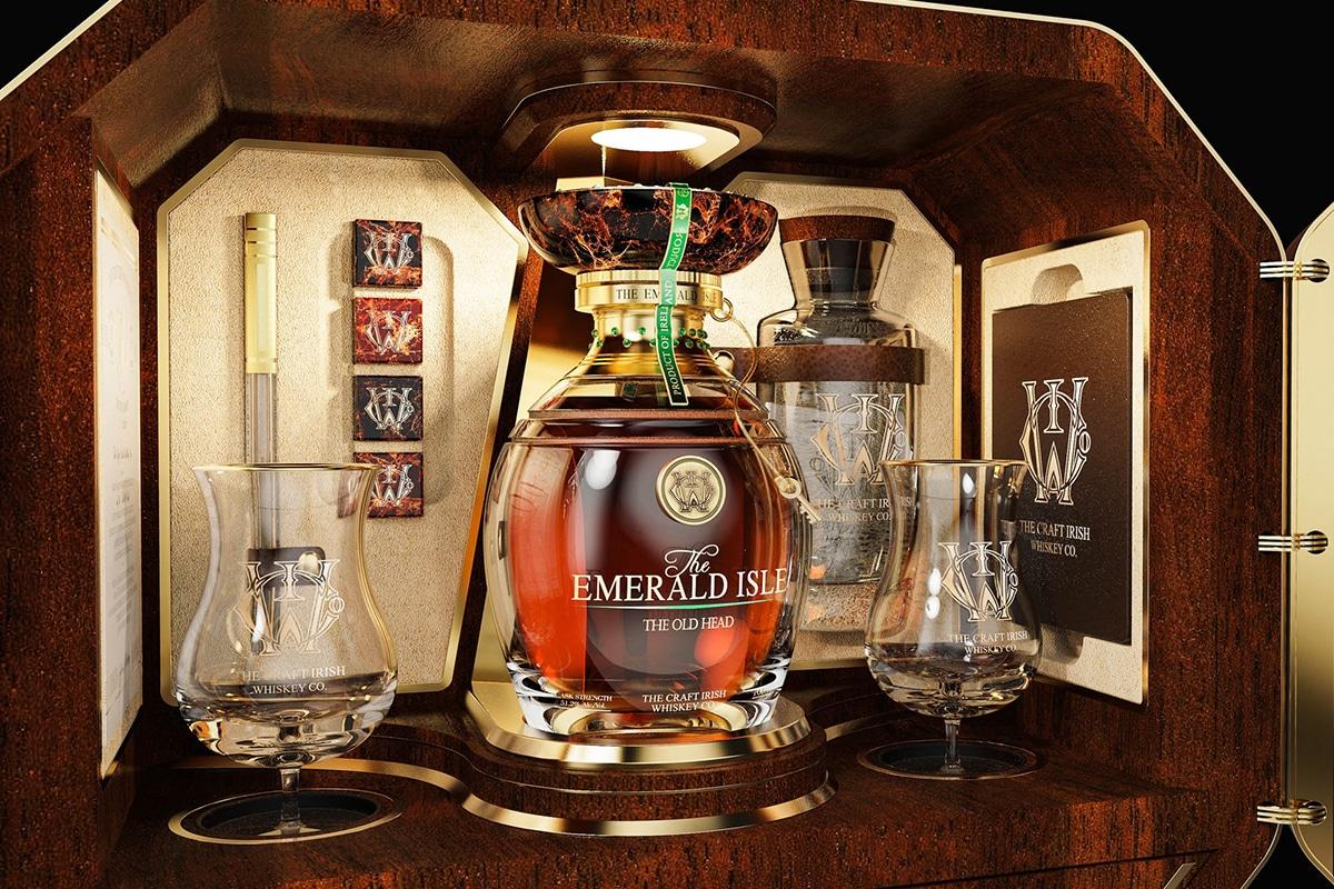 The craft irish whiskey co x faberge 5