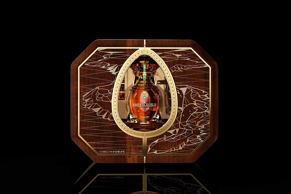 The craft irish whiskey co x faberge 7