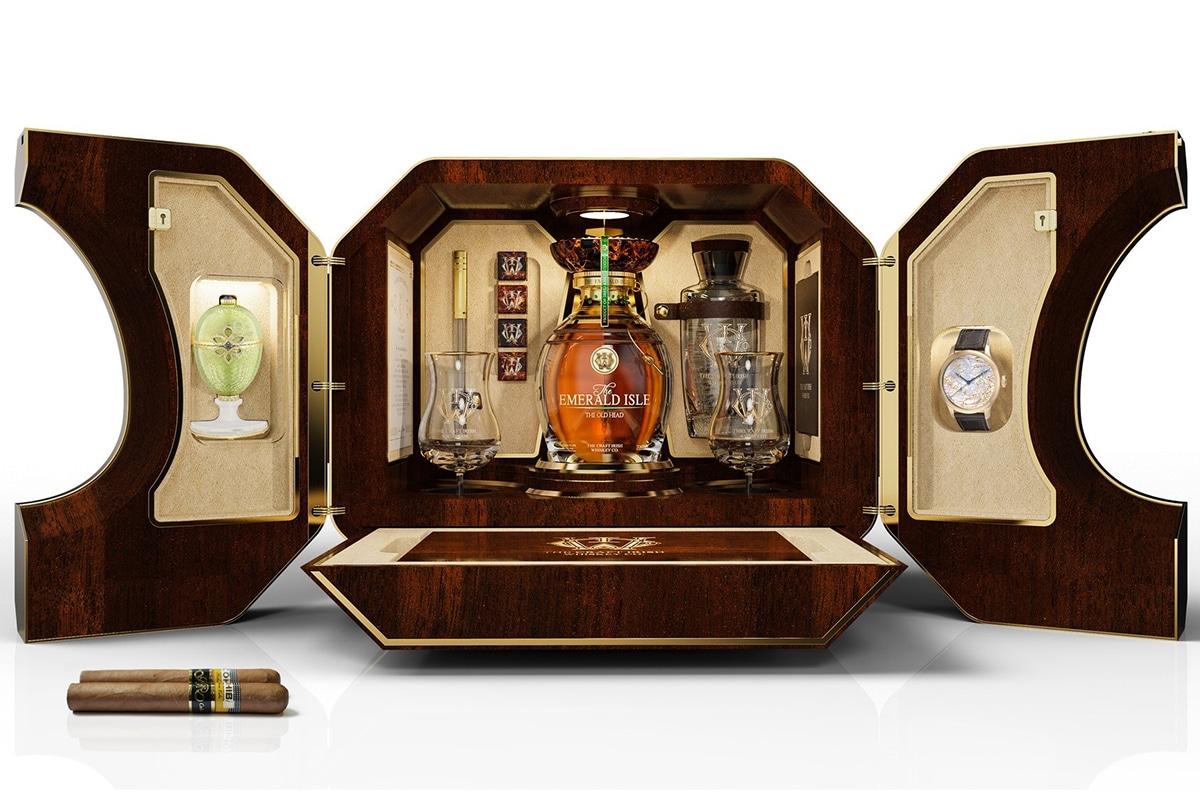 The craft irish whiskey co x faberge 8
