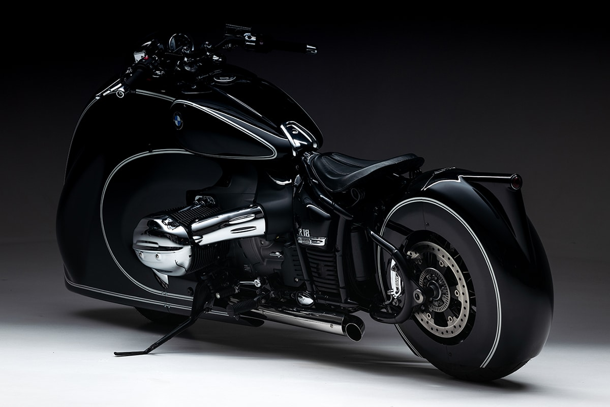 The spirit of passion by kingston custom bmw r 18 5
