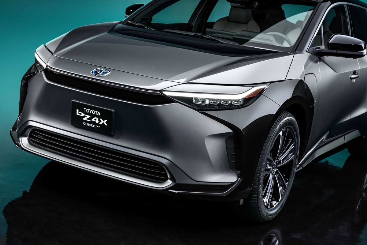 Toyota bz4x suv concept 5