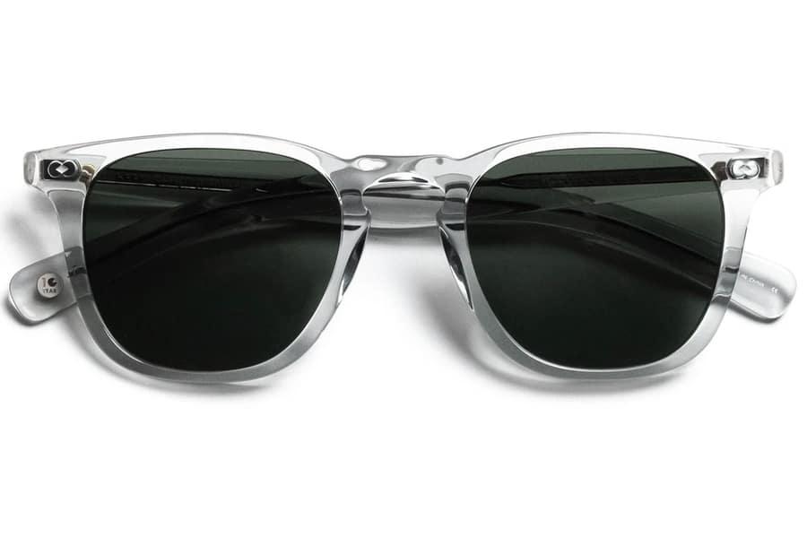 garrett leight brooks x sunglasses