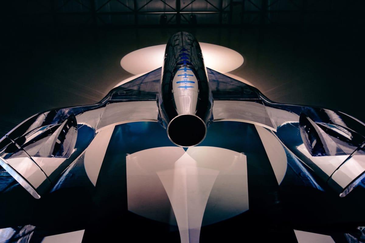 Virgin atlantic spaceship vss imagine