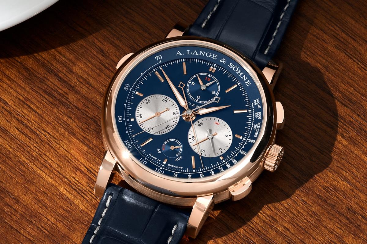 A. Lange & Söhne Triple Split Pink Gold watch