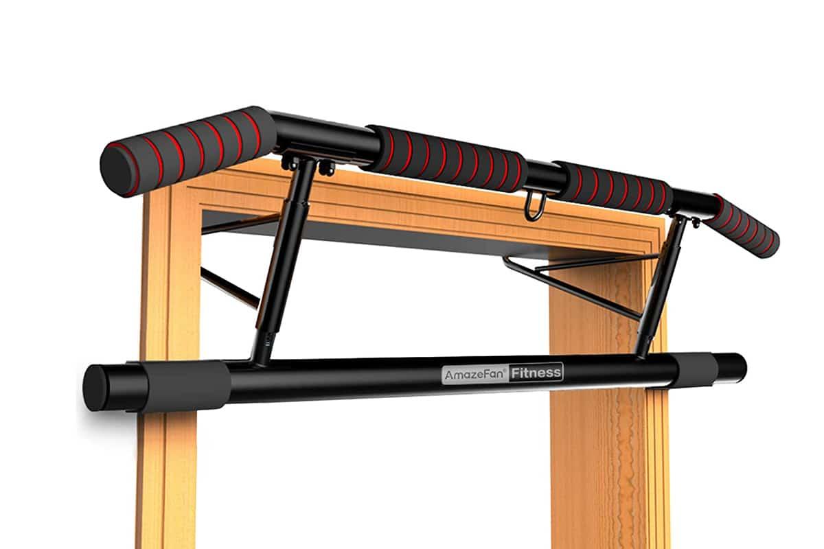 amazefan pull up bar doorway with ergonomic grip