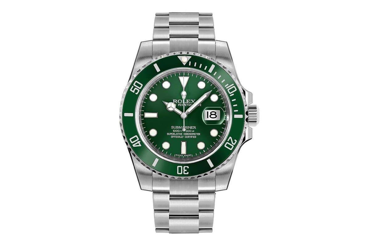 rolex submariner hulk Watch