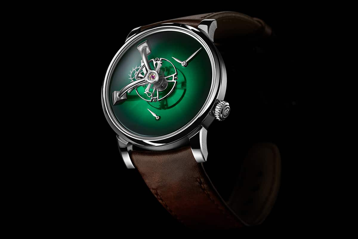 mb f x h moser lm101 green Watch