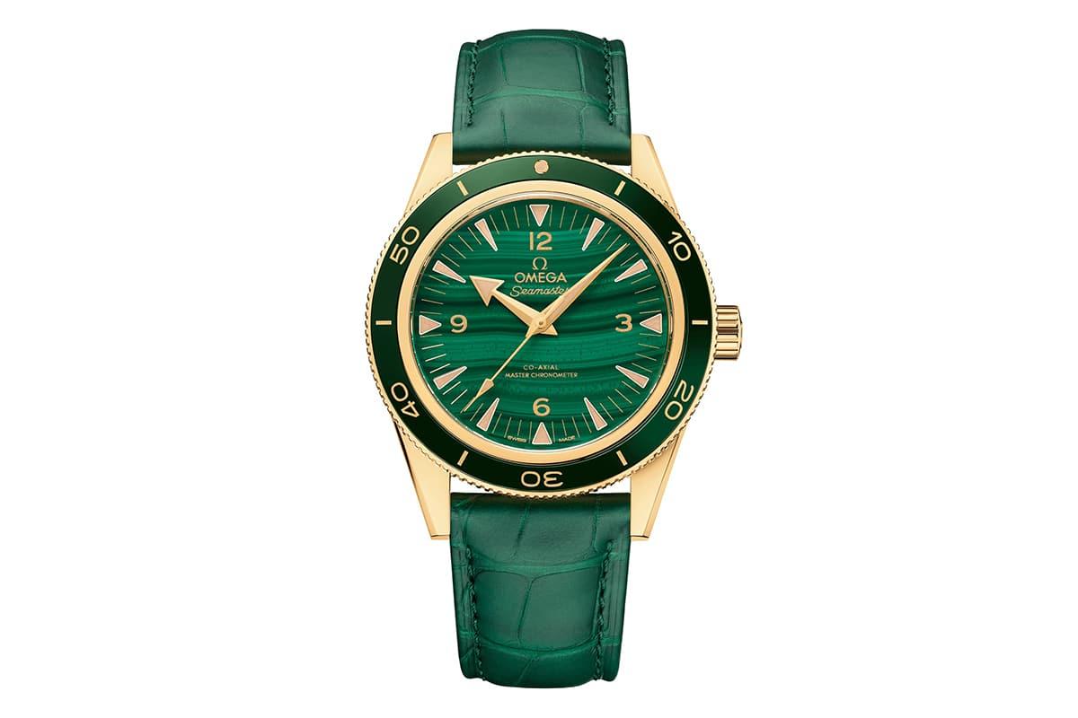 omega seamaster 300 malachite Watch