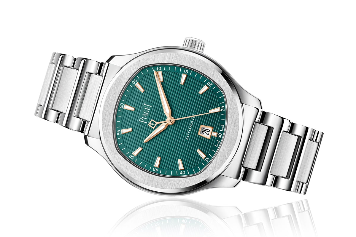 piaget polo s emerald green limited edition watch