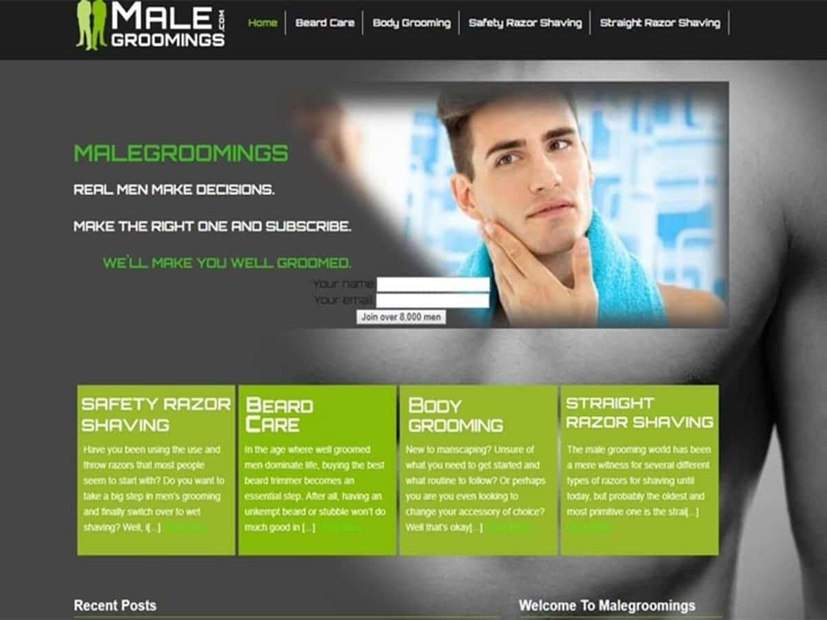 Male Groomings