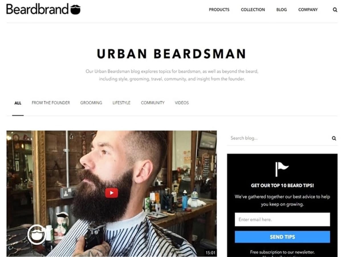 Urban Beardsman from Beardbrand