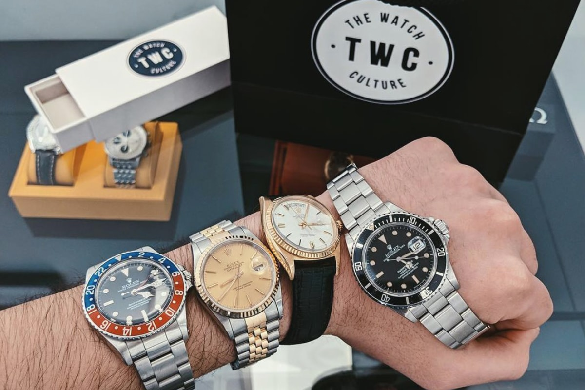 the watch culture vintage watch store