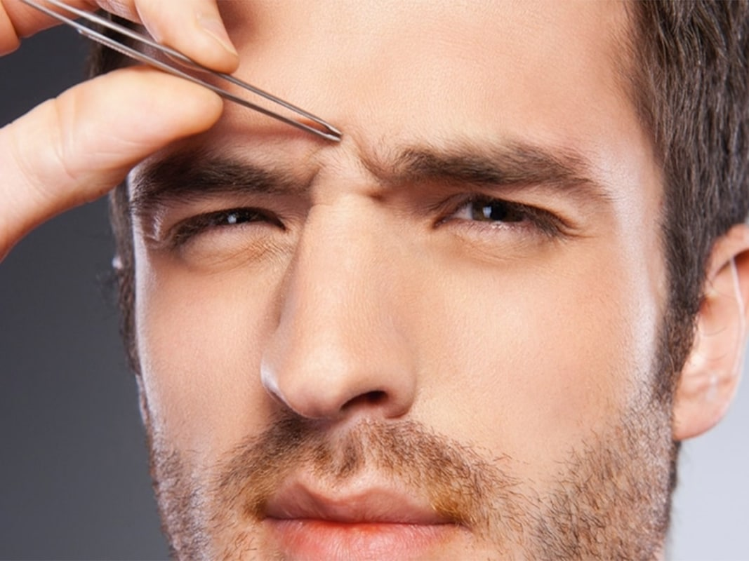 How to get rid of a monobrow unibrow