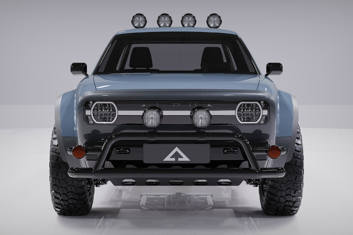 Alpha wolf electric truck 2