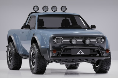 Alpha Keeps it Classic with Electric 'Wolf' Truck