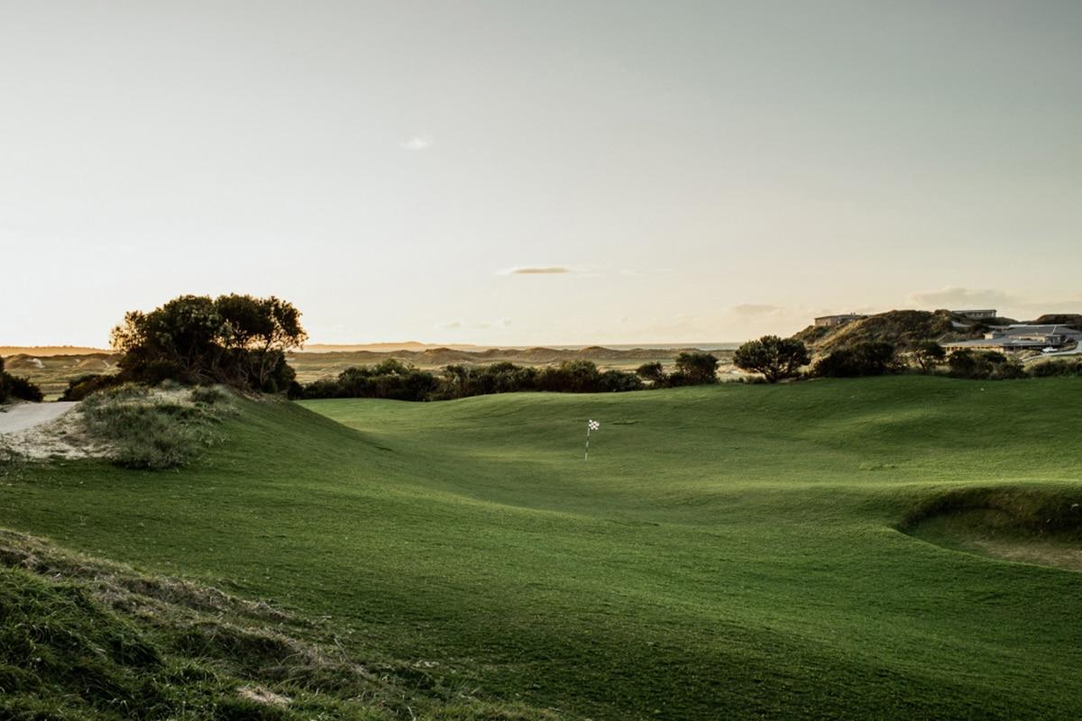 Barnbougle new golf course bougle run 1