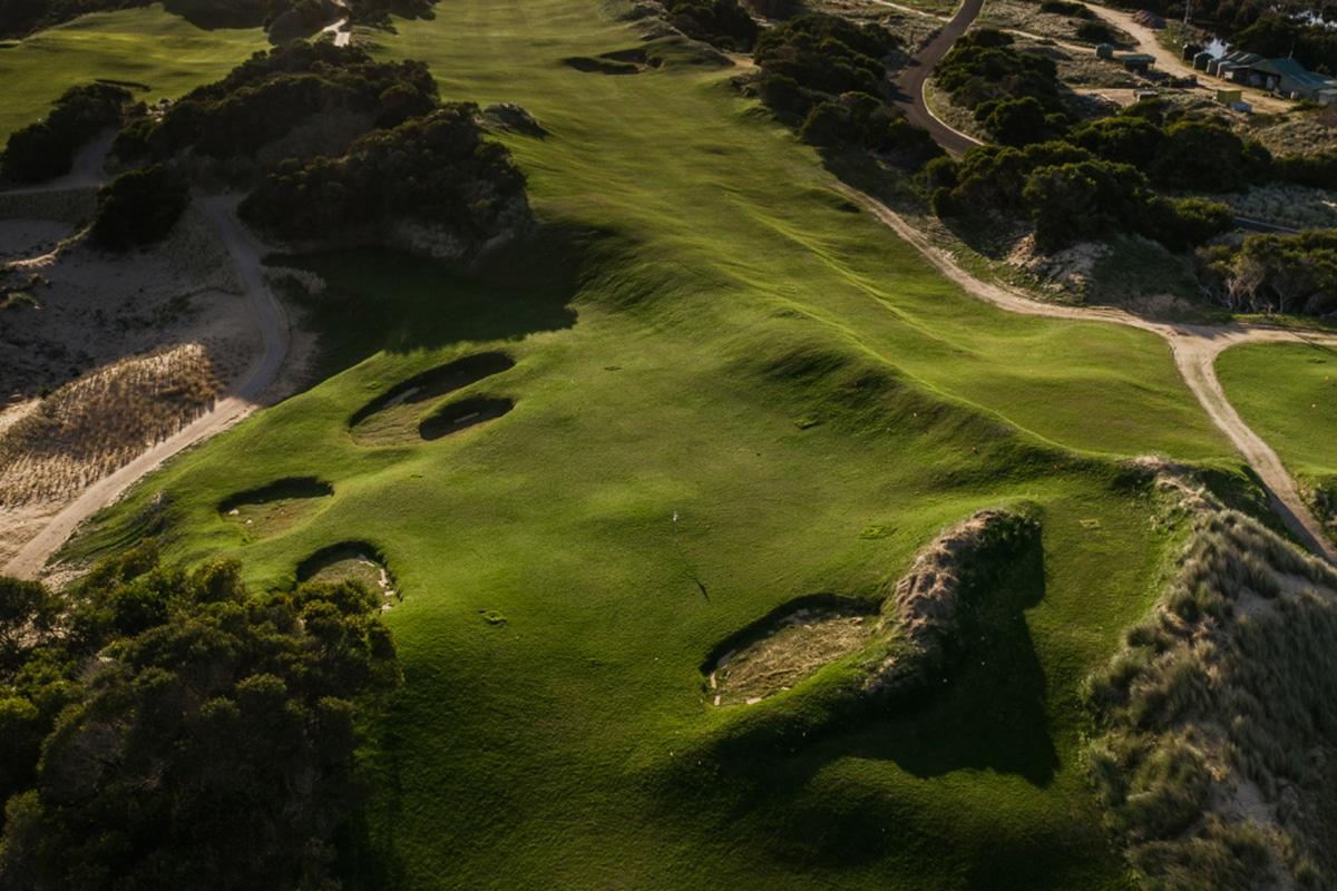 Barnbougle new golf course bougle run 3