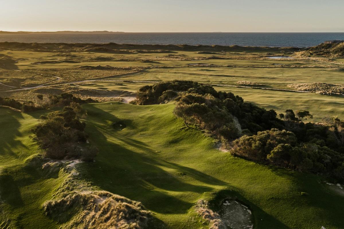 Barnbougle new golf course bougle run 5