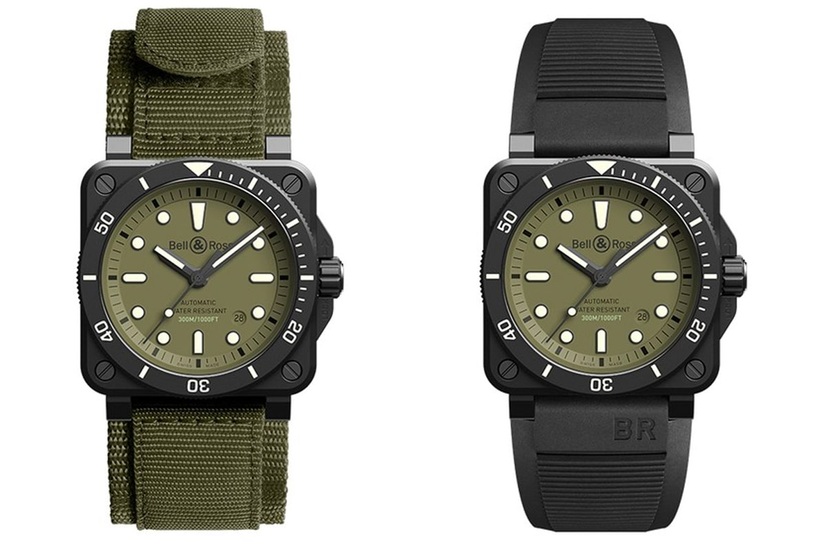 Bell ross br 03 92 diver military