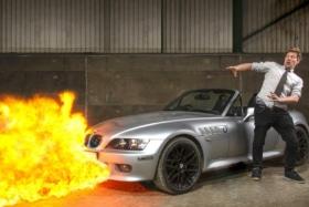 Colin hurze bond car