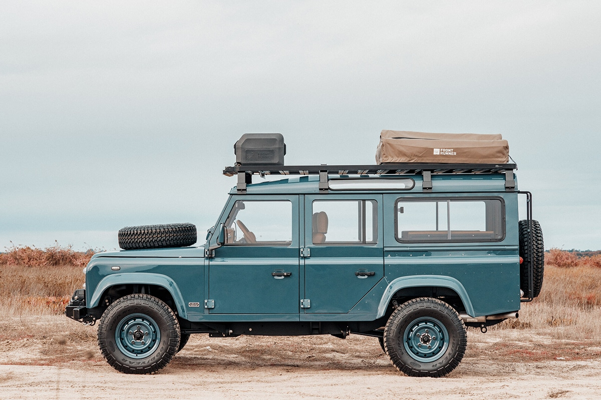 Cooll vintage land rover 110 5