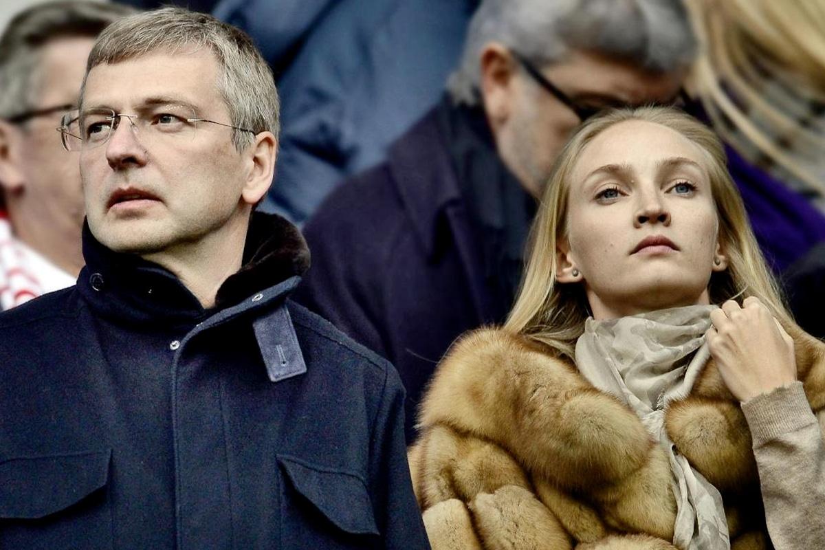 Dmitry and elena rybolovlev
