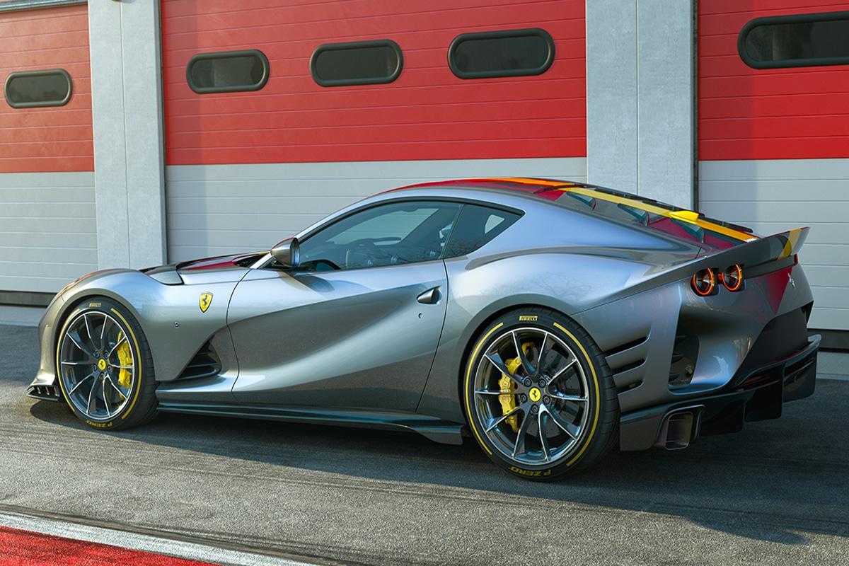 Ferrari 812 competizione and 812 competizione a 6