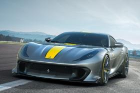 Ferrari 812 competizione and 812 competizione a 7