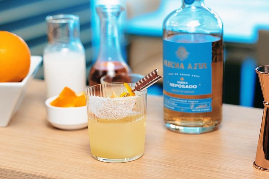 Flecha azul cocktail