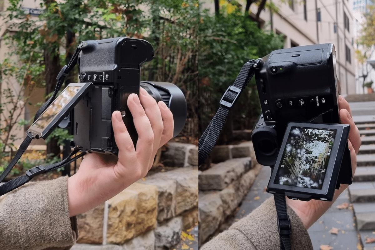 Fujifilm gfx100s screen movement 1