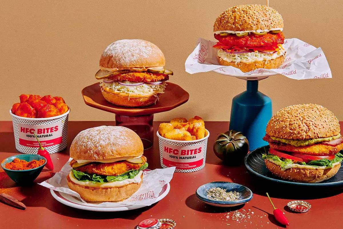 Grilld hfc burgers
