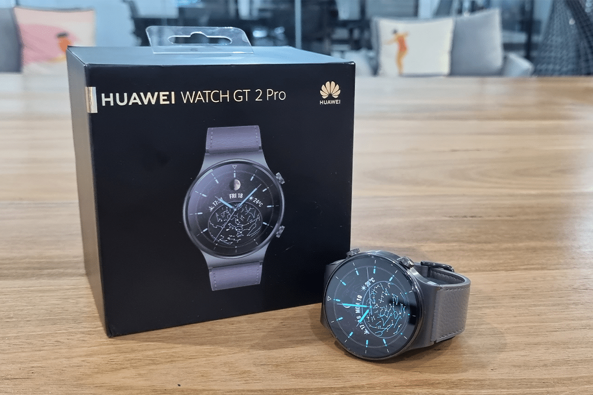 Huawei watch gt 2 pro with box