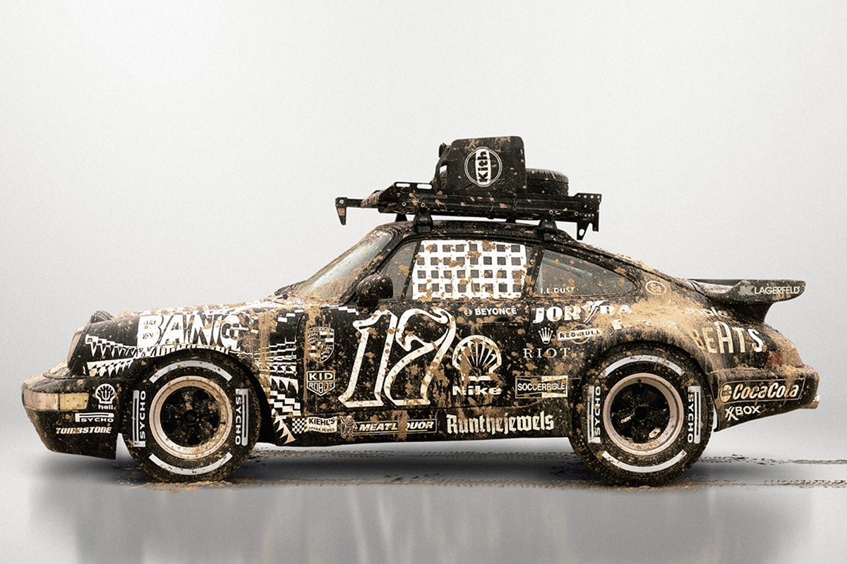 Ilovedust porsche 964 911 turbo coupe