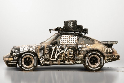 Ilovedust Toast's to 17 with Custom Porsche 911 Turbo Coupe