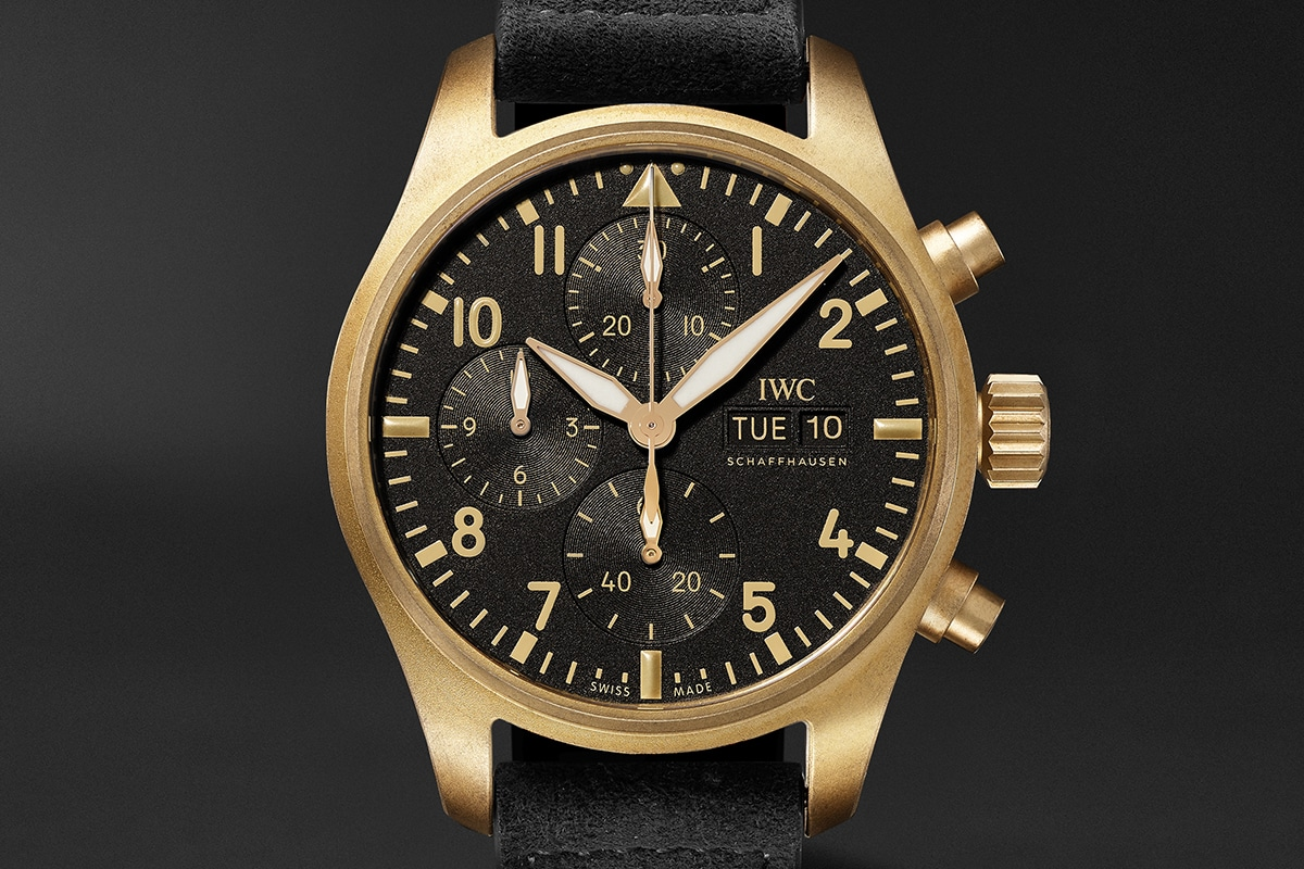 Iwc 10 years of mr porter pilots chronograph 1