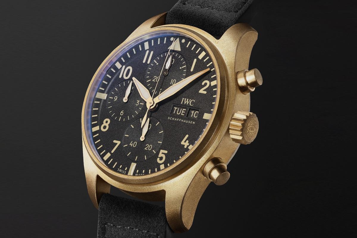 Iwc mr porter chronograph
