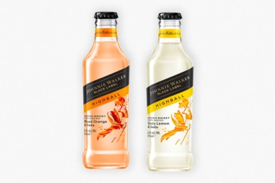 Johnnie Walker Gets Into the RTD Game with New Pre-Mixed Highball Bottles