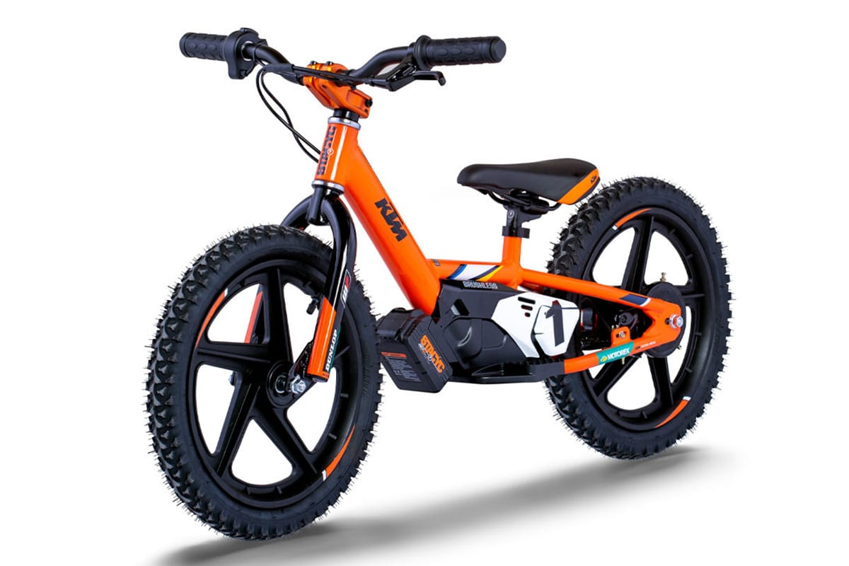 Ktm x stacyc edrive electric balance bikes 2