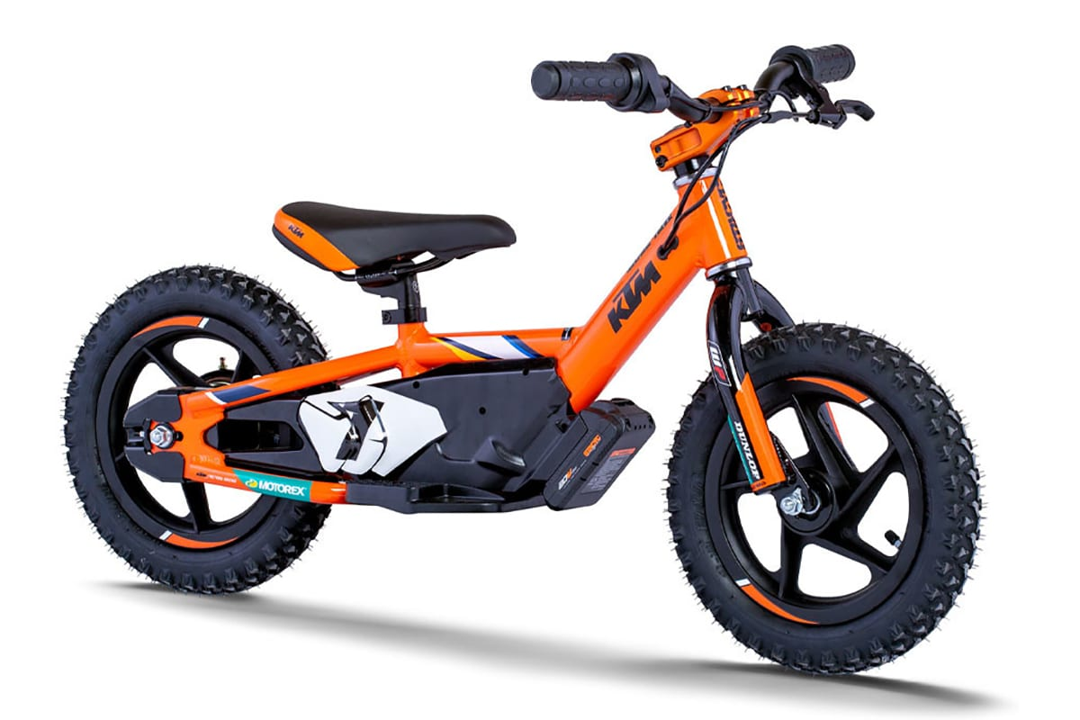Ktm x stacyc edrive electric balance bikes