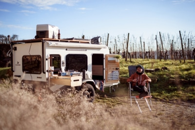 Kuckoo's Tiny Square-Drop Trailer is Built for Big Adventure