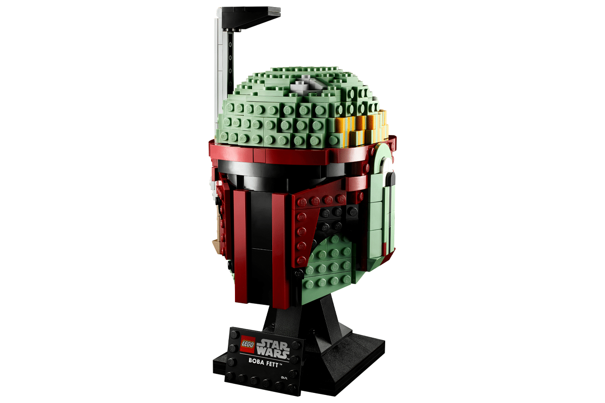 Lego boba fett helmet