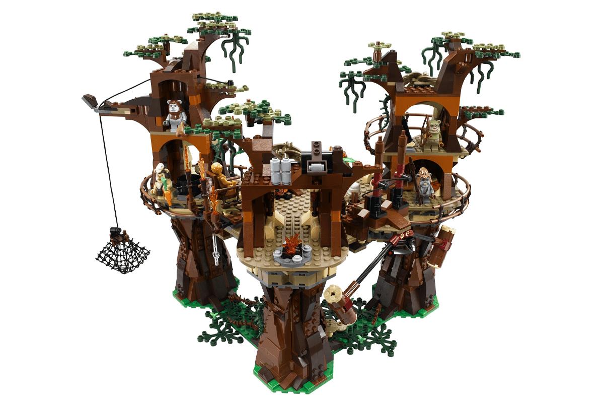 Lego ewok village rare set